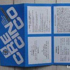 Catálogos publicitarios: FOLLETO FONDO ESPAÑOL DE INVERSIÓN MOBILIARIA. Lote 125960723