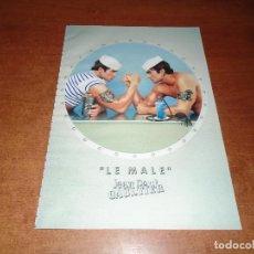 Catálogos publicitarios: PUBLICIDAD EN PRENSA DE 1999: LE MALE. JEAN PAUL GAULTIER.. Lote 126598599