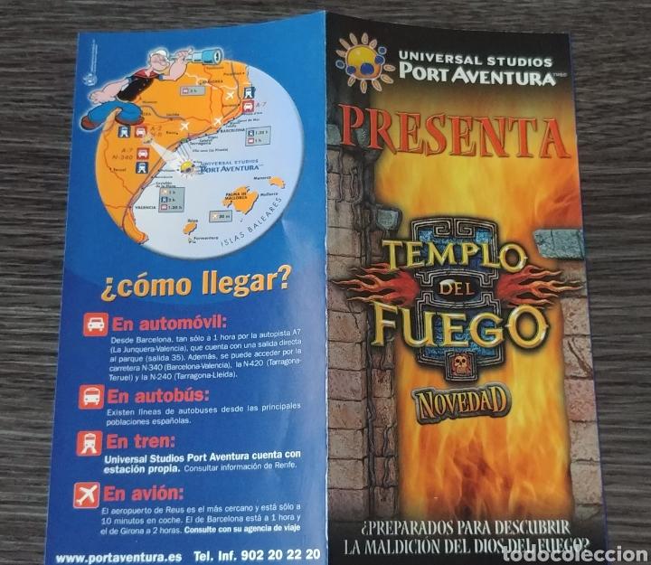 Entrada Publicidad El Templo Del Fuego Port Ave Comprar Catálogos