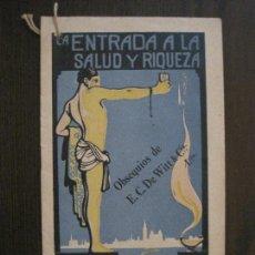 Cataloghi pubblicitari: DE VITTS -PILDORAS RIÑONES Y VEJIGA -FARMACIA- PUBLICIDAD -VER FOTOS-(V-14.892) . Lote 126909251