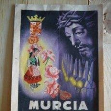 Catálogos publicitarios: PROGRAMA SEMANA SANTA Y FIESTAS DE PRIMAVERA. MURCIA. 1949. Lote 127258063