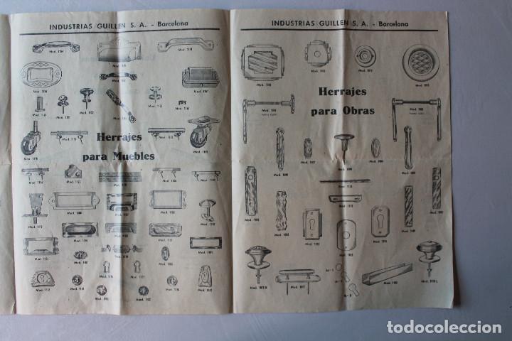 Catálogos publicitarios: CATÁLOGO PUBLICITARIO INDUSTRIAS GUILLÉN, SA, BARCELONA - Foto 3 - 127590155