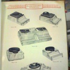 Catálogos publicitarios: CATALOGO DE MATERIAL DE OFICINAS. ELADIO ESCOFET. BARCELONA. MARCA RENAU. 8 HOJAS. Lote 127659879