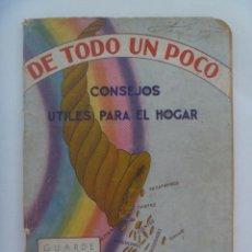Catálogos publicitarios: CATALOGO PUBLICITARIO DE PRODUCTOS FARMACEUTICOS SARRÁ . CUBA , AÑOS 40. Lote 128149087