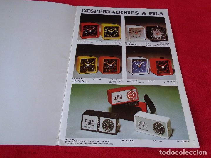 Catálogos publicitarios: CATALOGO RELOJES S.A.RELOJERIA SUIZA - RELOJ -SARS - 1975 - Foto 2 - 128556219