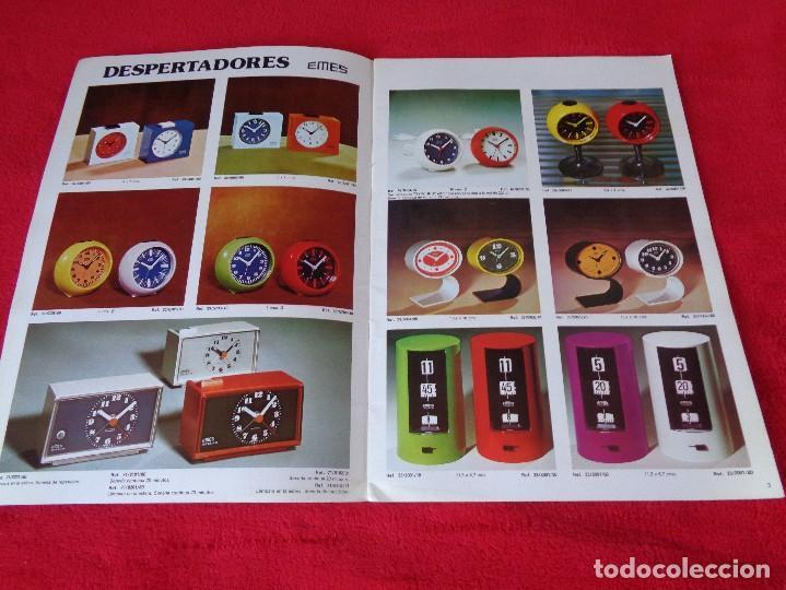 Catálogos publicitarios: CATALOGO RELOJES S.A.RELOJERIA SUIZA - RELOJ -SARS - 1975 - Foto 3 - 128556219