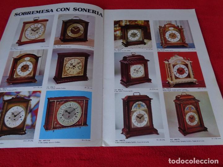 Catálogos publicitarios: CATALOGO RELOJES S.A.RELOJERIA SUIZA - RELOJ -SARS - 1975 - Foto 4 - 128556219