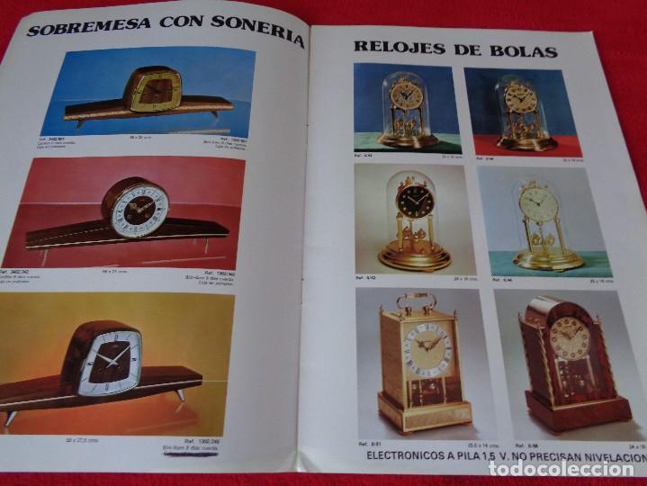 Catálogos publicitarios: CATALOGO RELOJES S.A.RELOJERIA SUIZA - RELOJ -SARS - 1975 - Foto 5 - 128556219