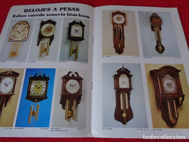 Catálogos publicitarios: CATALOGO RELOJES S.A.RELOJERIA SUIZA - RELOJ -SARS - 1975 - Foto 7 - 128556219