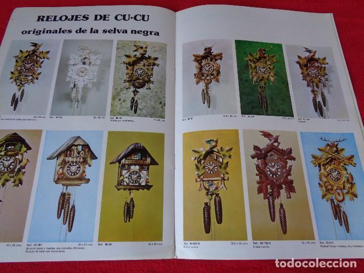Catálogos publicitarios: CATALOGO RELOJES S.A.RELOJERIA SUIZA - RELOJ -SARS - 1975 - Foto 9 - 128556219