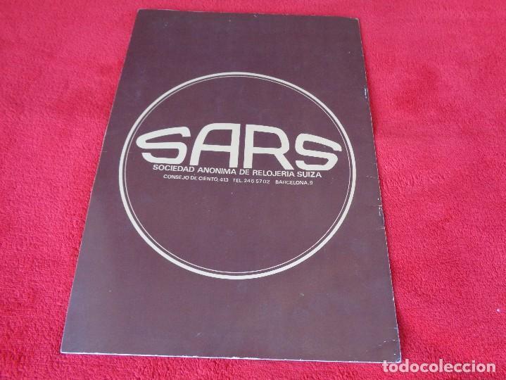 Catálogos publicitarios: CATALOGO RELOJES S.A.RELOJERIA SUIZA - RELOJ -SARS - 1975 - Foto 14 - 128556219
