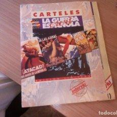 Catálogos publicitarios: CARTELES DE LA GUERRA CIVIL REPRODUCCIONES. Lote 128822899