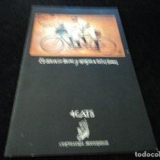 Catálogos publicitarios: 3GATS CERVECERIA MODERNISTA BARCELONA. Lote 129199855