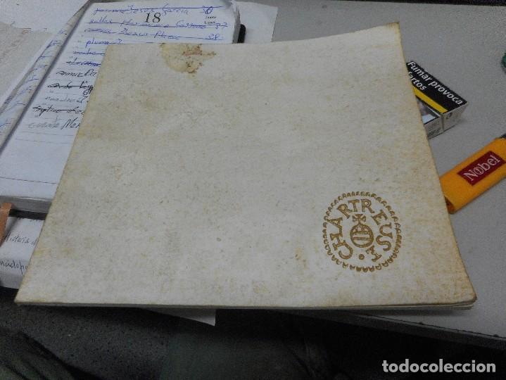 CATALOGO PUBLICITARIO CHARTREUSE (Coleccionismo - Catálogos Publicitarios)