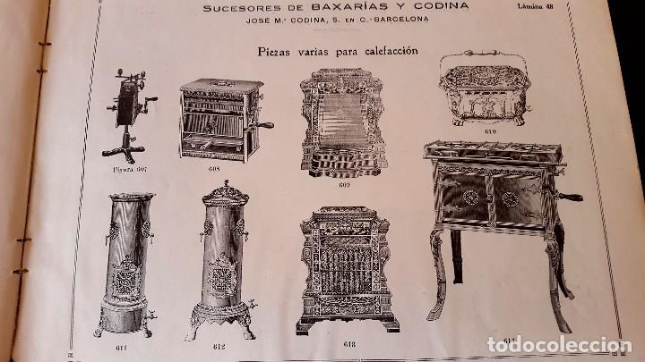 Catálogos publicitarios: MODERNISMO - LAMPISTERIA - 1900 - 1910 - CATALOGO DE BAIXARÍAS Y CODINA - Foto 8 - 129450783