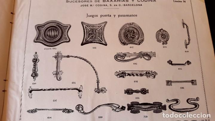 Catálogos publicitarios: MODERNISMO - LAMPISTERIA - 1900 - 1910 - CATALOGO DE BAIXARÍAS Y CODINA - Foto 9 - 129450783