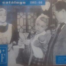 Catálogos publicitarios: CATÁLOGO DE CINE SAN PABLO FILMS 16MM 1965-1966. Lote 130354631