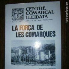 Catálogos publicitarios: CNTRE COMARCAL LLEIDETA FORÇA DE LAS COMARQUES BARCELONA MAIG I JUNY DE 1980 Nº 258 . Lote 130479718