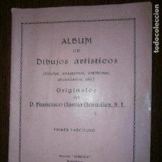 Catálogos publicitarios: ALBUM ARTISTICO VIÑETAS,ANAGRAMAS EMBLEMAS ETC ORIGINALES DE FRANCISCO GARCIA GONZALEZ 1º FASCICULO. Lote 130481094