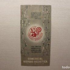Catálogos publicitarios: CATÁLOGO COMERCIAL HISPANO HELVÉTICA SA, TURMIX BERRENS. Lote 130677069