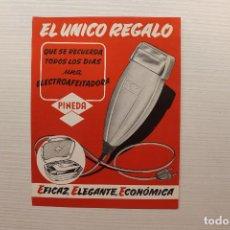 Catálogos publicitarios: PUBLICIDAD ELECTRO AFEITADORA PINEDA. Lote 130677734