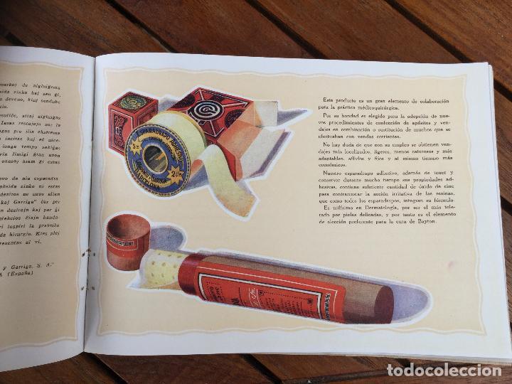 Catálogos publicitarios: CATÁLOGO ESPARADRAPO ADHESIVO CODORNIU Y GARRIGA (ORIGINAL). - Foto 21 - 130912384