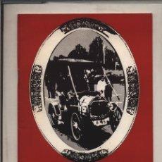 Catálogos publicitarios: VI CARAVANA INTERNACIONAL DE COCHES VETUSTOS GERONA COSTA BRAVA 1969 GASTOS DE ENVIO GRATIS. Lote 130996544