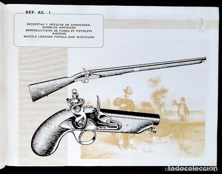 Catálogos publicitarios: CATALOGO GENERAL. ASOCIACIÓN ARMERA. AÑO: 1972. IMPRESO POR FOURNIER. EIBAR. GUIPÚZCOA. ESPAÑA. - Foto 2 - 131273275