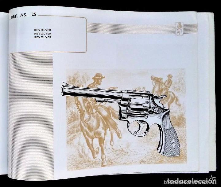 Catálogos publicitarios: CATALOGO GENERAL. ASOCIACIÓN ARMERA. AÑO: 1972. IMPRESO POR FOURNIER. EIBAR. GUIPÚZCOA. ESPAÑA. - Foto 6 - 131273275