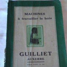 Catálogos publicitarios: 49-CATALOGO FRANCES DE MAQUINARIA ANTIGUA, 1952. Lote 132297006