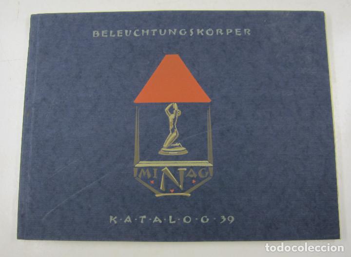CATÁLOGO DE LÁMPARAS ALEMANAS, NIEMANN A. G., AÑOS 30, BERLIN. 32X24CM (Coleccionismo - Catálogos Publicitarios)