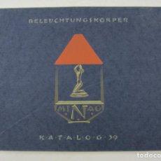 Catálogos publicitarios: CATÁLOGO DE LÁMPARAS ALEMANAS, NIEMANN A. G., AÑOS 30, BERLIN. 32X24CM. Lote 132632414