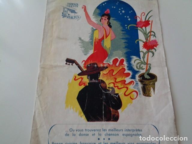 VALENCIA. TERRAZA JARDÍN RIALTO. PROGRAMA DE VARIEDADES. AÑOS 60 (Coleccionismo - Catálogos Publicitarios)