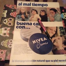 Catálogos publicitarios: ANTIGUO RECORTE ANUNCIO PUBLICIDAD 1978 CREMA NIVEA. Lote 133586542