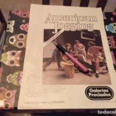 Catálogos publicitarios: ANTIGUO ANUNCIO DOBLE CARA PUBLICIDAD 1979 GALERIAS PRECIADOS. Lote 133659522