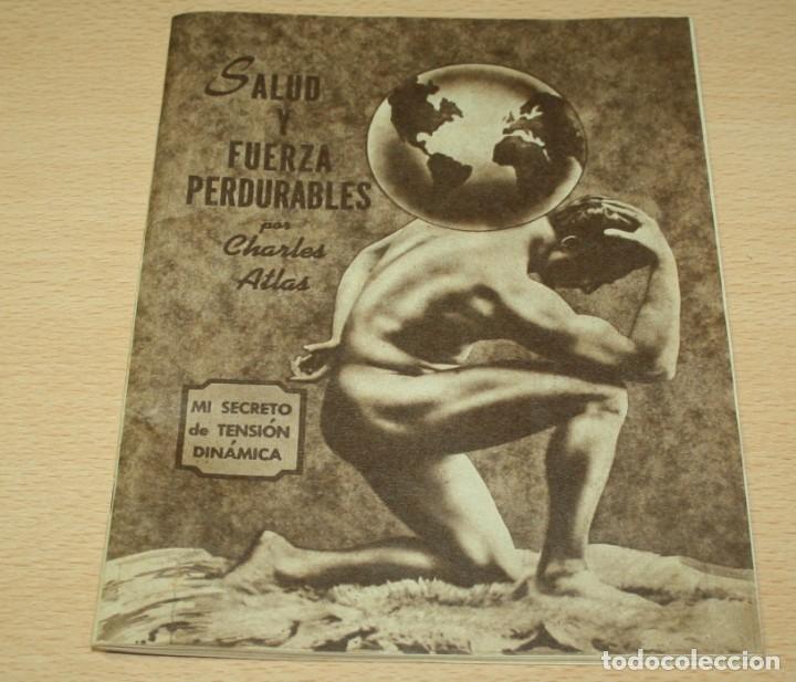 Catálogos publicitarios: Material publicitario e impresos de Charles Atlas - Culturismo - Foto 2 - 217341462