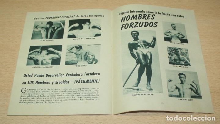 Catálogos publicitarios: Material publicitario e impresos de Charles Atlas - Culturismo - Foto 3 - 217341462