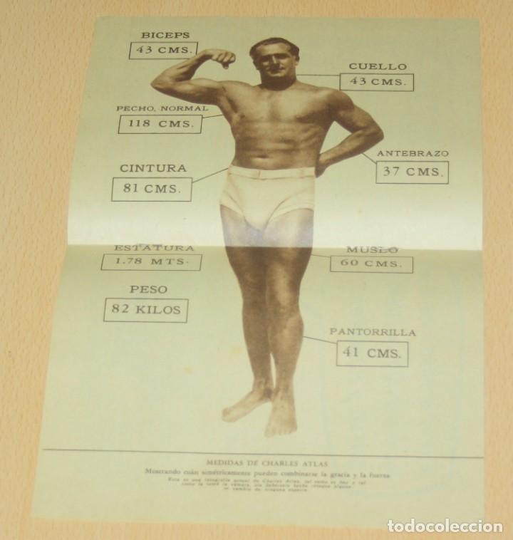 Catálogos publicitarios: Material publicitario e impresos de Charles Atlas - Culturismo - Foto 4 - 217341462