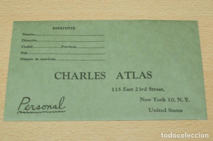 Catálogos publicitarios: Material publicitario e impresos de Charles Atlas - Culturismo - Foto 6 - 217341462
