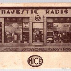 Catálogos publicitarios: CATALOGO PUBLICITARIO MAJESTIC RADIO. NIZA. EN FRANCES. CIRCA 1930. Lote 133896859