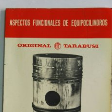 Catálogos publicitarios: ORIGINAL TARABUSI S.A. BILBAO ASPECTOS FUNCIONALES DE EQUIPOCILINDROS. Lote 134072406