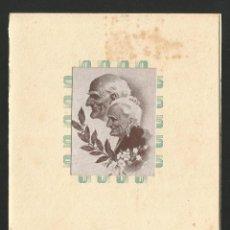 Catálogos publicitarios: MARTORELL - XIII HOMENAJE A LA VEJEZ -11 DE JULIO DE 1954 - 4 PÀG + PORTADES - 12,5 X 17 CM.. Lote 134135902