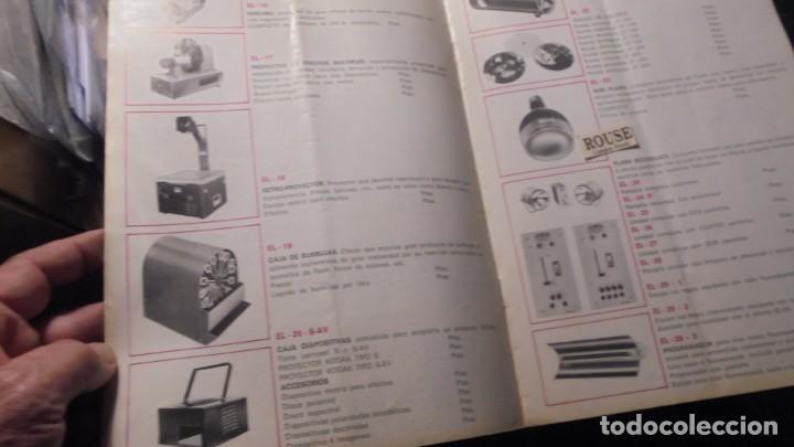 Catálogos publicitarios: CATALOGO AÑOS 60/70 - EUROLUX S/A. ILUMINACION Y SONIDO , CATALOGO GENERAL 20 PAG. 30X21,5 CM. - Foto 4 - 137329688