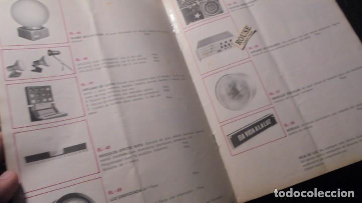 Catálogos publicitarios: CATALOGO AÑOS 60/70 - EUROLUX S/A. ILUMINACION Y SONIDO , CATALOGO GENERAL 20 PAG. 30X21,5 CM. - Foto 6 - 137329688