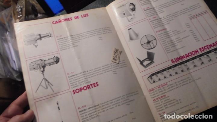 Catálogos publicitarios: CATALOGO AÑOS 60/70 - EUROLUX S/A. ILUMINACION Y SONIDO , CATALOGO GENERAL 20 PAG. 30X21,5 CM. - Foto 7 - 137329688