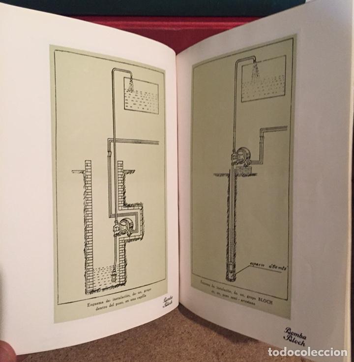 Catálogos publicitarios: 1923, ELECTRO BOMBA BLOCH. Manual comercial. - Foto 6 - 135048731