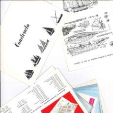 Catálogos publicitarios: CATALOGO CONSTRUCTOR DE BARCOS MINIATURA NAVAL . Lote 135710067