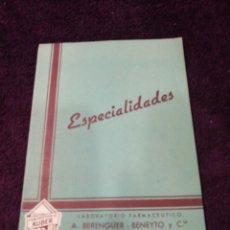Catálogos publicitarios: PUBLICIDAD FARMACÉUTICA 1956. Lote 136227206