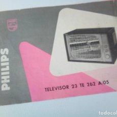Catálogos publicitarios: FOLLETO TELEVISOR 23 PHILIPS . Lote 136414006