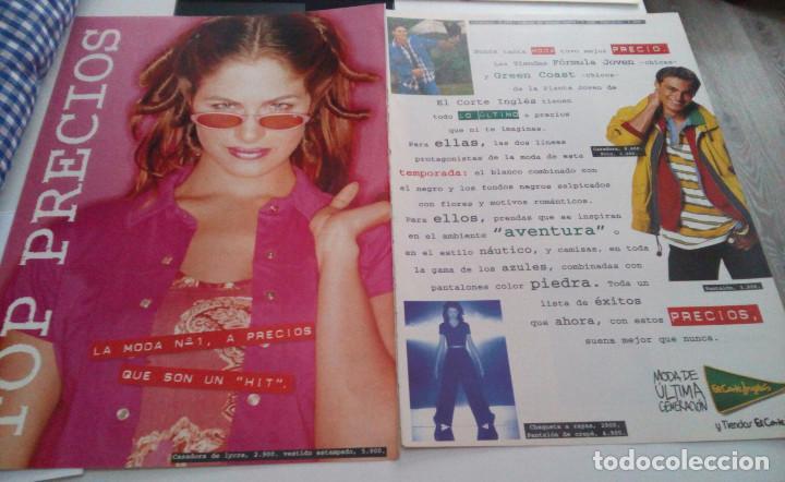 EL CORTE INGLES.PUBLICIDAD DE EL CORTE INGLES.MODA DE ULTIMA GENERACION.1995. segunda mano